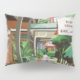 Cactus Cafe Pillow Sham