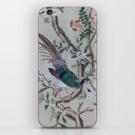 Antique Chinoiserie with Bird iPhone Skin