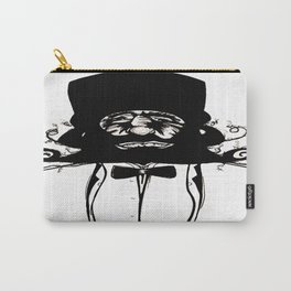 """""""Mustachat"""" Carry-All Pouch"""