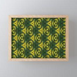 Electric Green Framed Mini Art Print