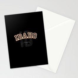 Idaho Vintage Retro Collegiate Stationery Cards