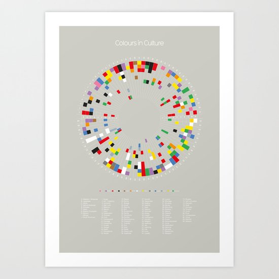 Colours in Culture Art Print