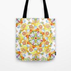 Flower Garden Mandala Tote Bag