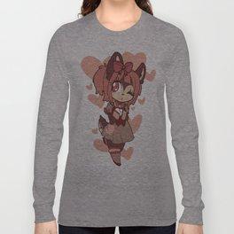 coffee deer sweetheart Long Sleeve T-shirt