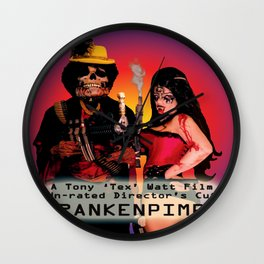 Frankenpimp (2009) - Movie Poster Wall Clock