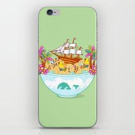 Ocean Adventure Ramen iPhone Skin