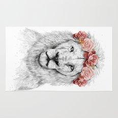 Festival lion Rug