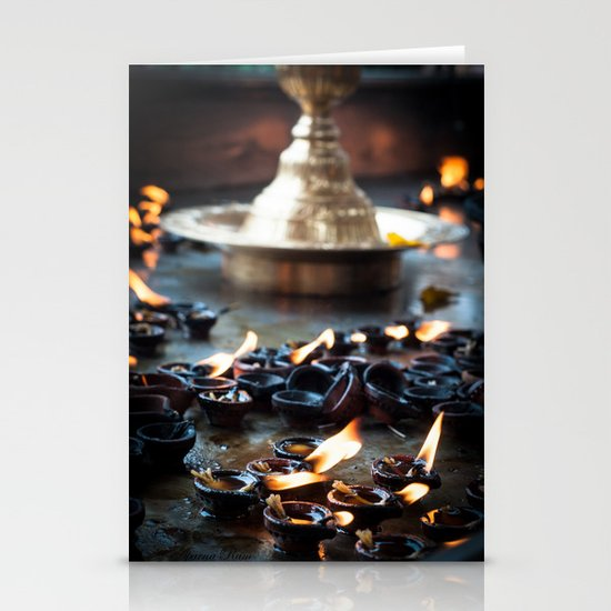 Divine Diyas Stationery Cards