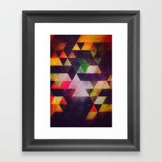 drwwnyng Framed Art Print