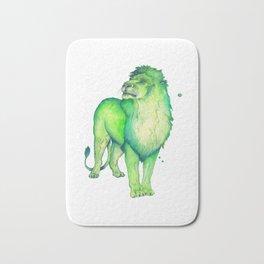 Green Lion Bath Mat