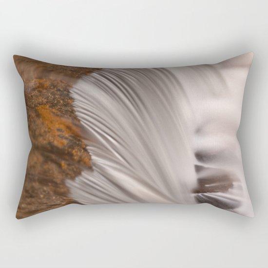 Tolliver Falls Close-up Rectangular Pillow