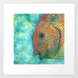 freckle fish Art Print