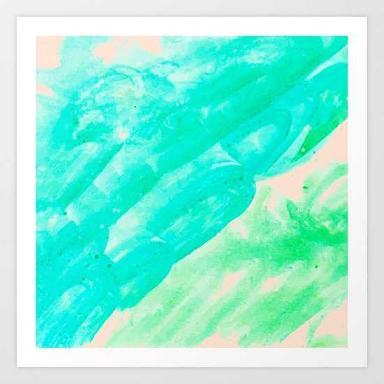 Tropical Souvenir #society6 #decor #buyart Art Print