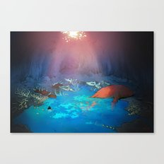 The Whale Cemetery Canvas Print