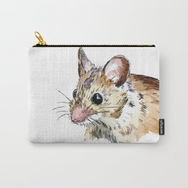 Little Brown Mouse Carry-All Pouch