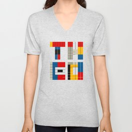 THEO AND ME Unisex V-Neck