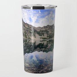 Snow Lake Travel Mug