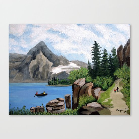 Mountain landscape 2 Canvas Print