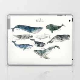 Whales Laptop & iPad Skin
