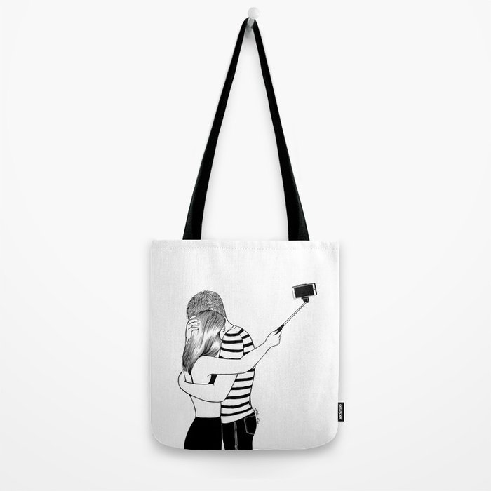 Do I love you or Do I just love me in love Tote Bag