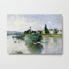 The Seine at Lavacourt Metal Print