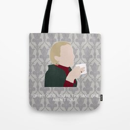 His Last Vow - Mary Watson Tote Bag