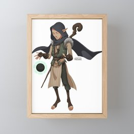 Tiny Solas Framed Mini Art Print