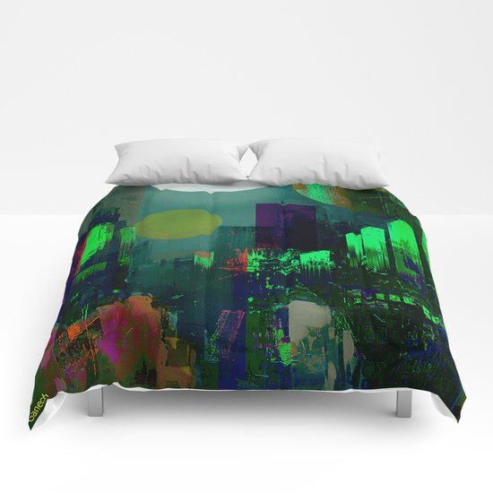 Electric city Comforters