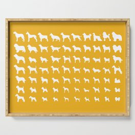 All Dogs (Gold) Serving Tray