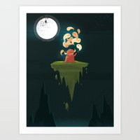 bender Art Prints featuring :::Thought Bender...::: by Ilias Sounas