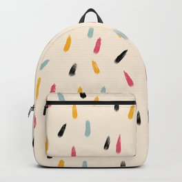 Abstract Colorful Retro Colored Rain Drops - Imugi Backpack