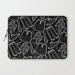 Suit & tie (cutouts) Laptop Sleeve