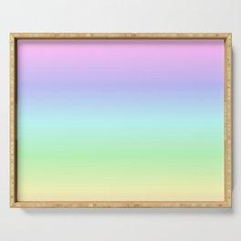 Pastel Rainbow Serving Tray