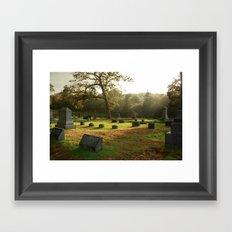 Grass IS Greener Framed Art Print