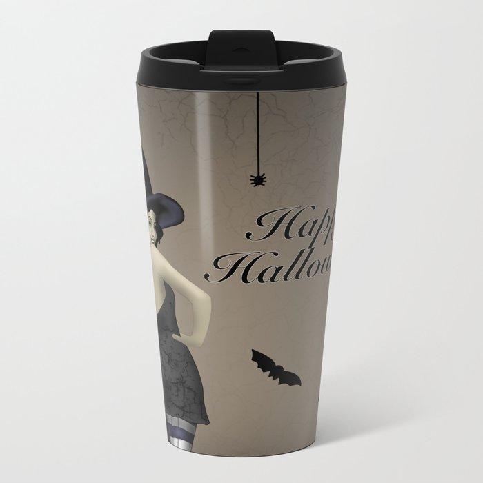 Sassy Witch Metal Travel Mug