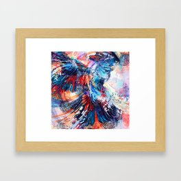 Cockatoo circlings Framed Art Print