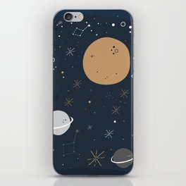 The Moon and the Stars iPhone Skin