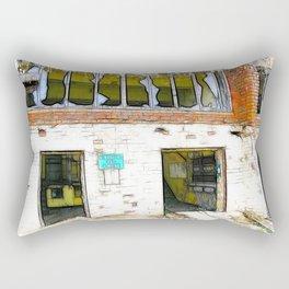 Abandon Hope  Rectangular Pillow