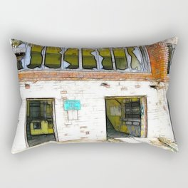 Abandon Hope  Rectangular Pillow