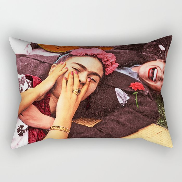 Frida y Chavela Rectangular Pillow