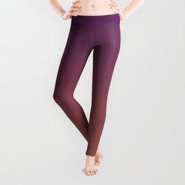MIDNIGHT GLOW - Minimal Plain Soft Mood Color Blend Prints Leggings