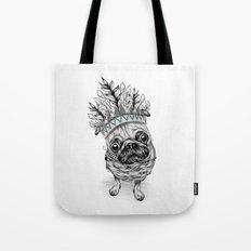 Indian Pug  Tote Bag