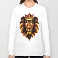 the lion king Long Sleeve T-shirts featuring Lion King by Mart Biemans