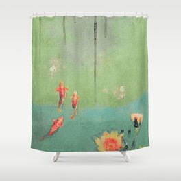 Koi Dreams Shower Curtain