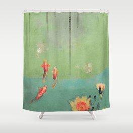 Koi Dreams Shower Curtain
