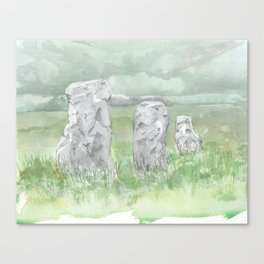 Drumskinny Canvas Print