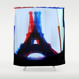 Architectural Shapes #5 Shower Curtain