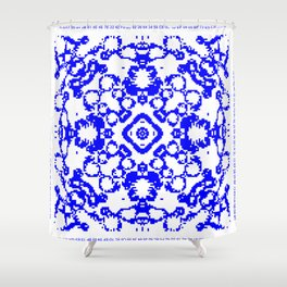 CA Fantasy Blue series #9 Shower Curtain