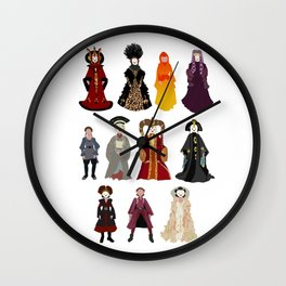 Queen's Closet Wall Clock