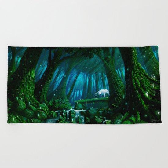 Mononoke Beach Towel